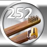 brosse de fée mini rouleau lisse nº252